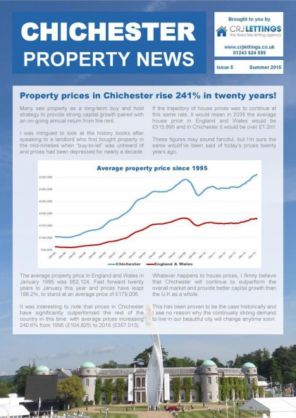 chichester property news summer 2015 page 1